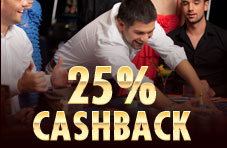 25% Cash Back Promotion