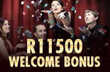 R11'500 Welcome Bonus